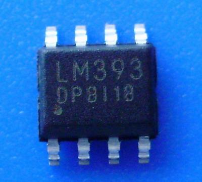 电池充电器 dp393 德普自制;  贴片   lm  393  低功耗电压比较器 sop