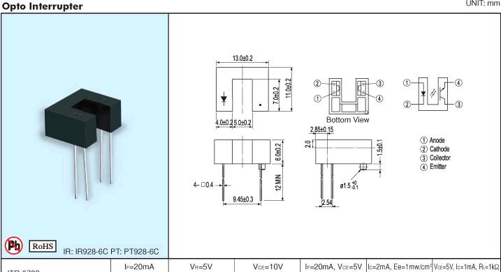 集成电路ic  > itr9702-f   分享            品    牌:everlight亿光