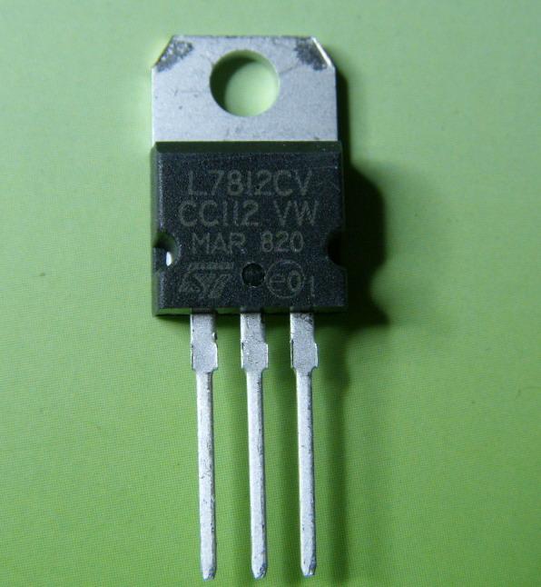 集成电路ic  l7812cv  分享            品    牌:st