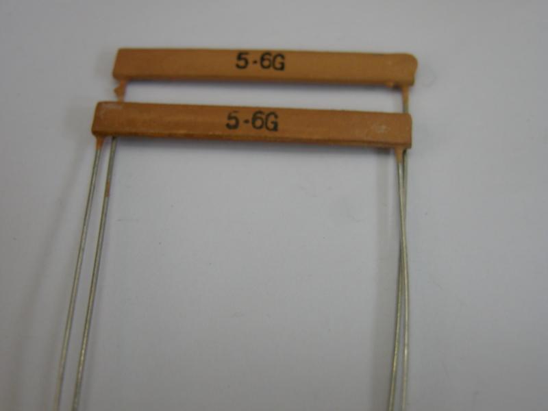 高压电阻 5.6GRI82片状高压玻璃膜釉电阻器