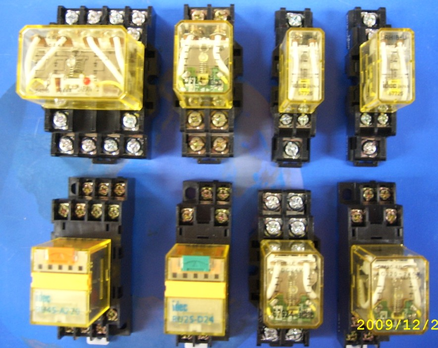 日本和泉按钮开关 继电器 rh4b-ul-dc24v rh2b-ul-dc24v rj2s-cl rj2s