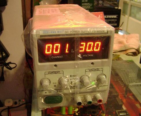 [供应]稳压直流可调电源 ps303d 香港龙威