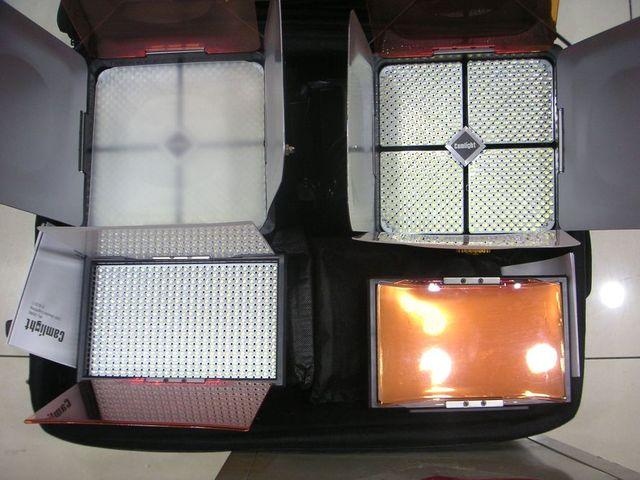 Camlight开麦莱特Kit24中小场景布光便携套装LED影视灯 Camlight开麦莱特Kit24中小场景布光便携套装LED影视灯