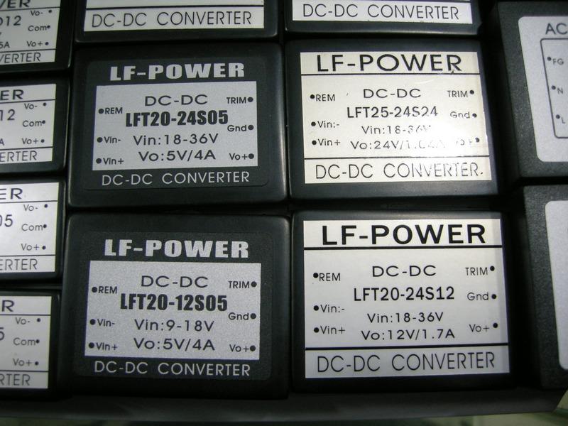 [供应]电源模块dc24v转dc12v 20w lft20-24s12 lf