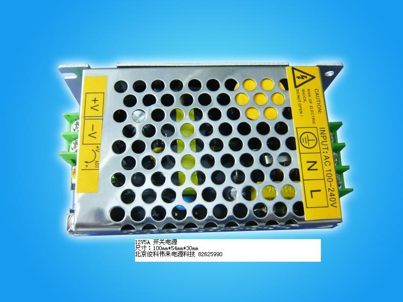 12V5A 60W MINI开关电源 JKL1200500