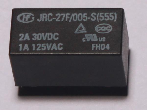 通信继电器 JRC-27F/012-S(555) 宏发