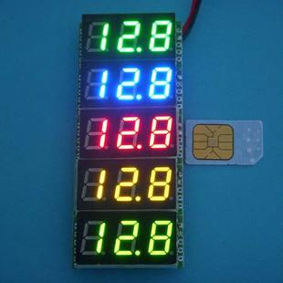 [供应]测量0-100v 电源7-30v,电瓶锂电池 电压表数显 bt4003r100v