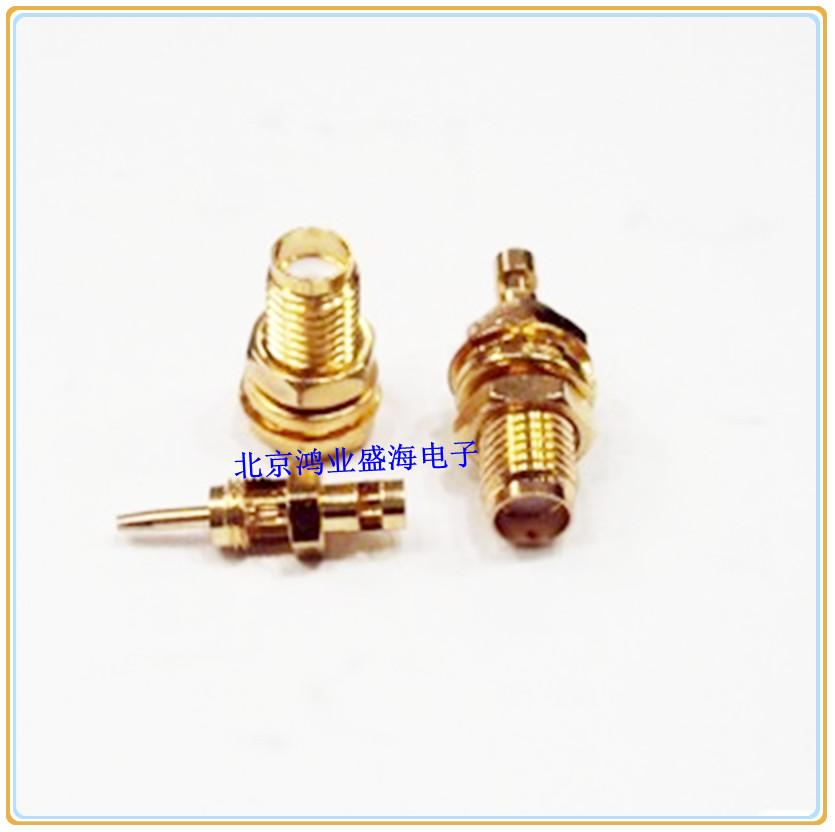 [供应]高频射频同轴连接器sma-ky外螺内孔,天线转接线头,分体 sma-ky