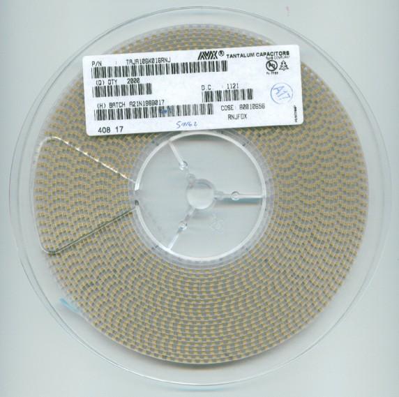 贴片钽电容 TPST106K006R1000