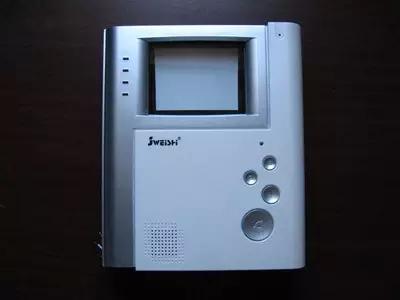 家卫士四防区黑白可视免提分机js-2008mfvp对讲门铃话