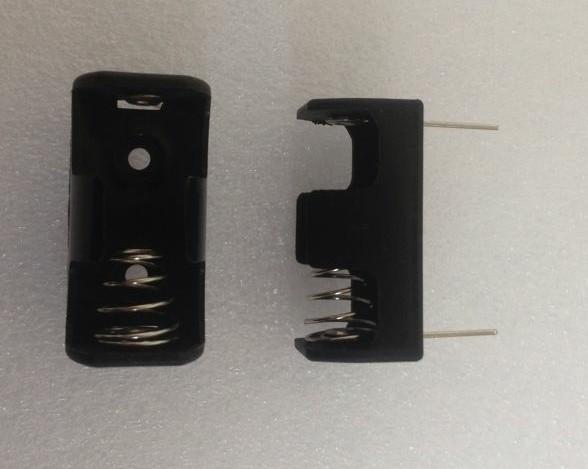 14250 电池盒 1/2AA 直插 1/22A电池座