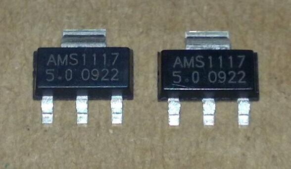 电源稳压模块 降压ams1117-5