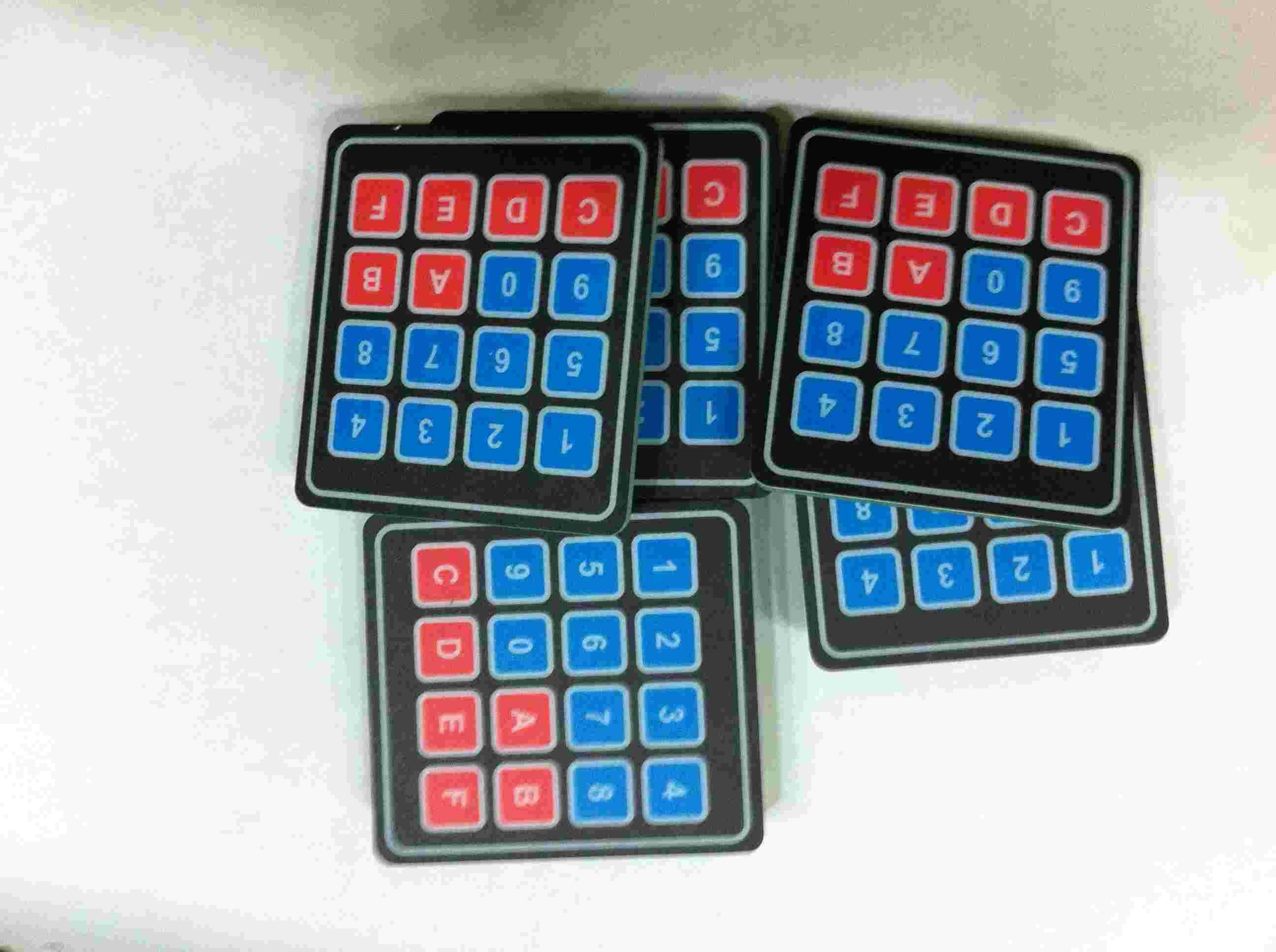 印刷电路板(pcb)  薄膜按键a
