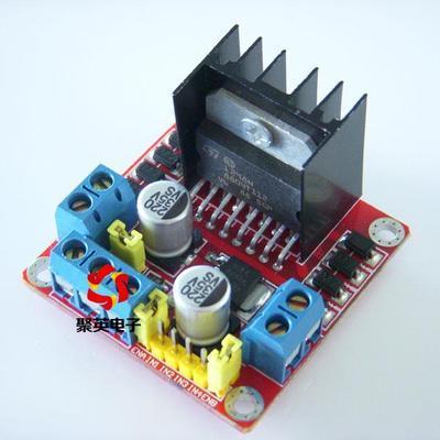 [供应]l298n电机驱动板模块 直流,步进电机 驱动模块 正反转控制 聚英