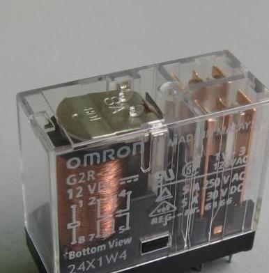 欧姆龙继电器g2r-2-av220v