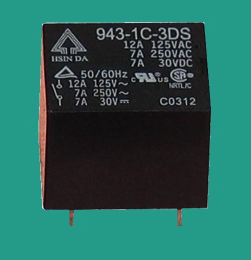 台湾欣大继电器 943-1C-9DS