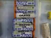 电池 5号 日本三洋