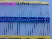 金属膜电阻 RJ16 1W1% 一系列阻值现货