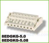插拔式接线端子 8EDGKG-5.0/5.08