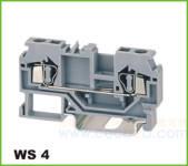 WS轨道式接线端子 WS 4