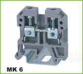 MK轨道式接线端子 MK 6