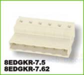 插拔式接线端子 8EDGKR-7.5/7.62