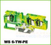 WS轨道式接线端子 WS 6-TW-PE