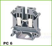 PC轨道式接线端子 PC 6