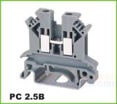 PC轨道式接线端子 PC 2.5B