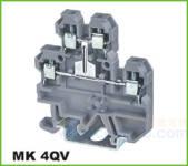 MK轨道式接线端子 MK 4QV