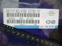 供应电源IC 三端稳压器 KS1117-ADJ SOT-89 科信正品 KS1117-ADJ