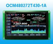 4.3寸工业级TFT彩屏 OCM480272T430-1A
