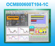 10.4寸TFT工业级C系列彩色屏 OCM800600T104-1C