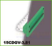 插拔式接线端子 插拔式15CDGV-3.81