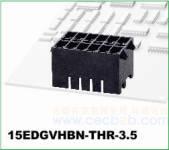 插拔式接线端子 插拔式 15EDGVHBN-THR-3.5