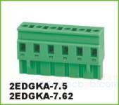 插拔式接线端子 插拔式2EDGKA-7.62