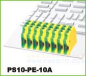 螺钉式接线端子 螺钉式PS10-PE-10A