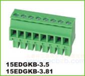 插拔式接线端子 插拔式 15EDGKB-3.5