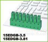 插拔式接线端子 插拔式 15EDGB-3.5
