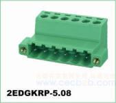 插拔式接线端子 插拔式2EDGKRP-5.08