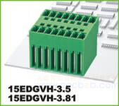 插拔式接线端子 插拔式15EDGVH-3.81