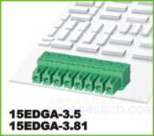 插拔式接线端子 插拔式15EDGA-3.5