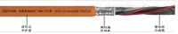 PUR护套INDRANAT INK 反馈/伺服拖链电机电缆 (4G1.0+2*(2*0.75)C)C mm