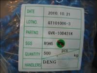 压敏电阻 10D431K GVR
