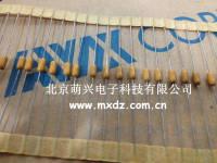 进口独石电容 进口AVX CT224K/50V SA305C224KAA 轴向排带 0.22uF 50V ±10% 220nF 3.81 x 7.37 mm CT224K/50V SA305C224KAA