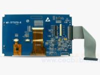 米尔7寸电容触摸液晶屏 MY-TFT070CV2支持Rico board MYD-AM335X 米尔7寸电容触摸液晶屏 MY-TFT070CV2支持Rico board MYD-AM335X