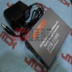HTB-1100S-25KMA单模单纤百兆光纤收发器 光电转换器 HTB-1100S-25KMA