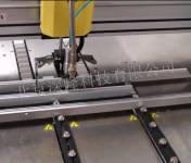 深隆机器人 ST02太阳能电池边框涂胶机 工业机器人 自动涂胶机 ST02
