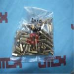 M3*10+6mm 单通六角铜柱 铜螺柱 支柱 线路板铜螺丝支撑柱 隔离柱 M3*10+6mm 单通铜柱