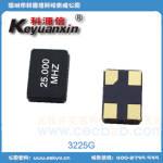 中性晶振3225陶瓷面 25M 20PF 10PPM KAX25000H01R